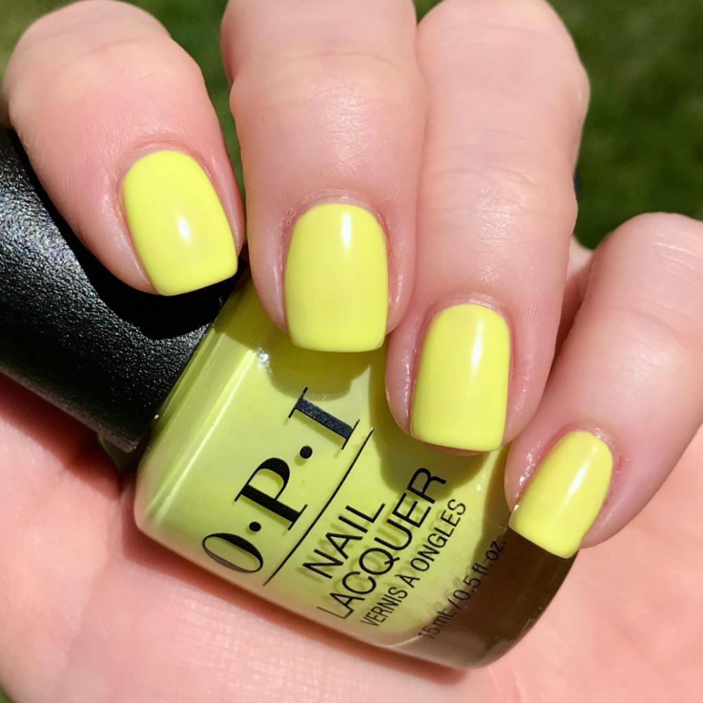 OPI – Lemon Yellow Nail Color