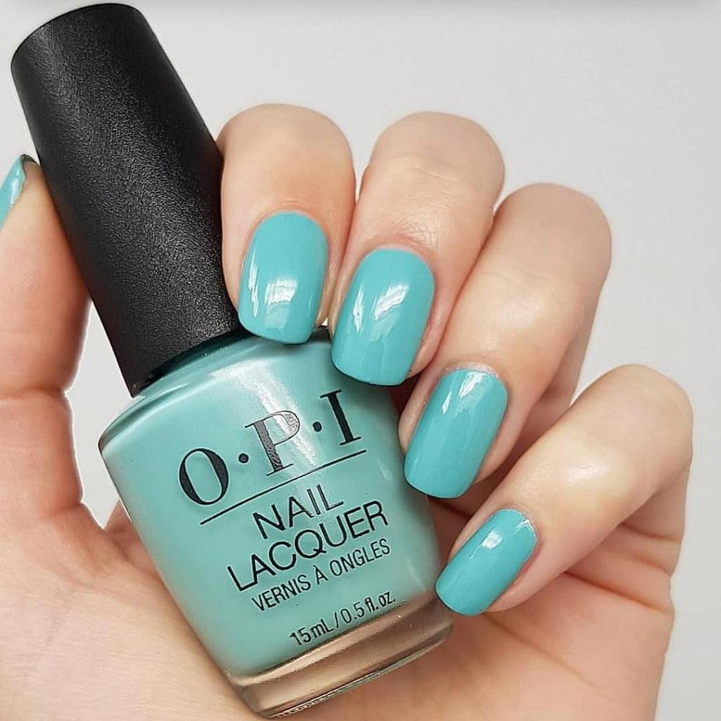 Turquoise Blue Shade OPI Gel Polish